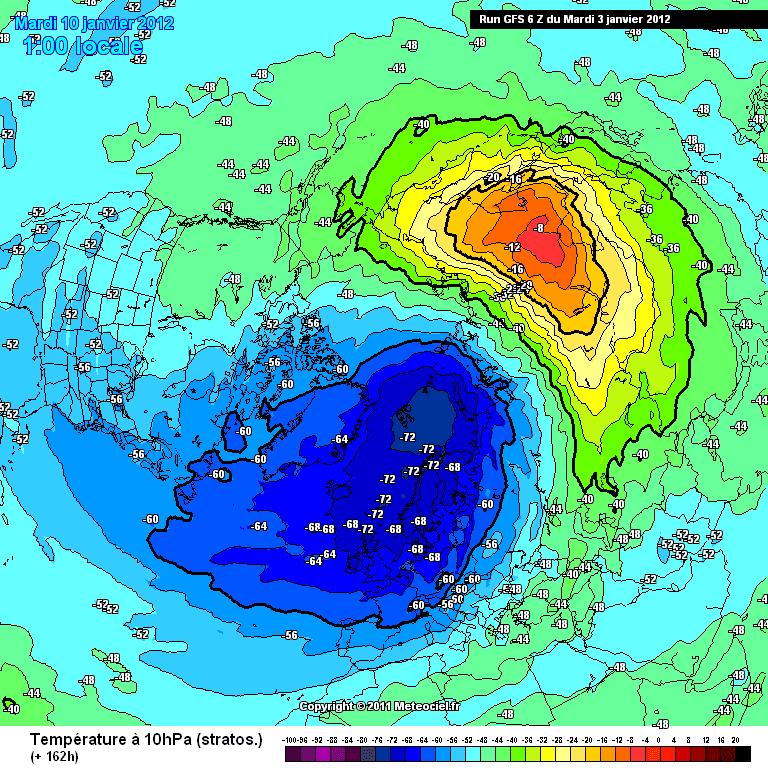 plotse stratosfeer opwarming 2012