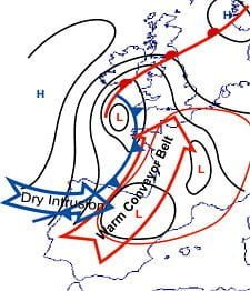 extreem weer parameters