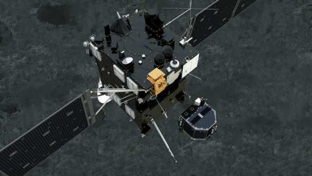 ruimtesonde Philae in detail