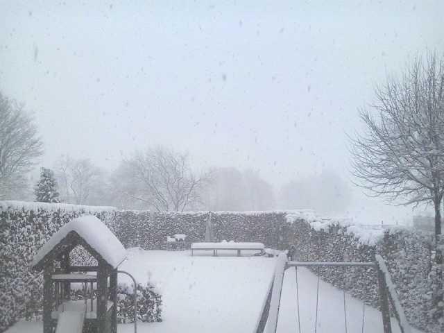 sneeuw elsenborn