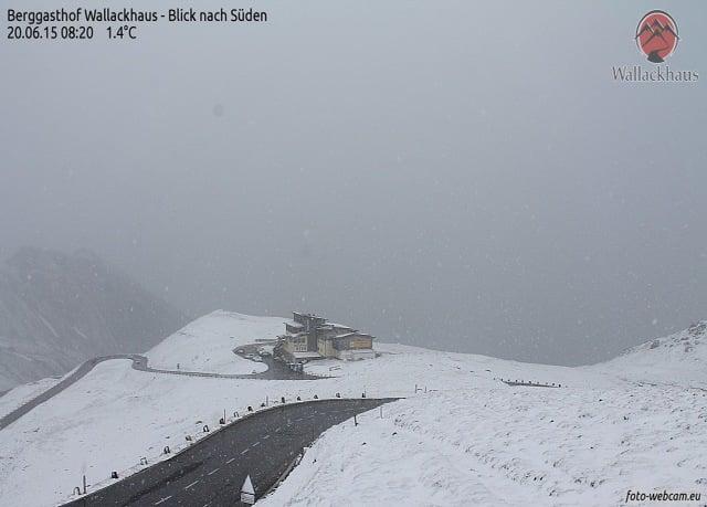 sneeuw Alpen