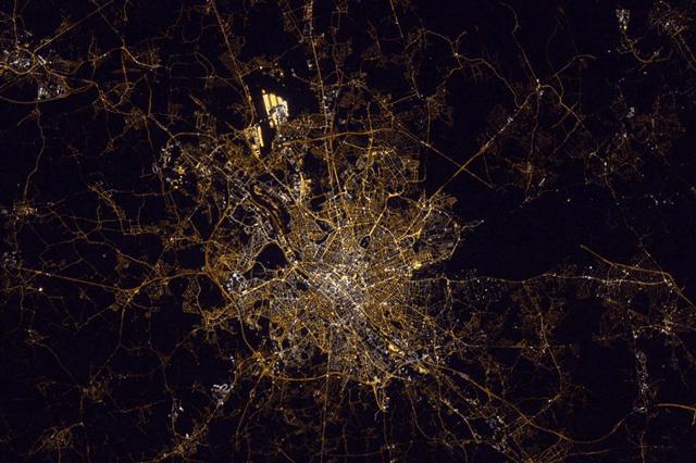 Lichtvervuiling Brussel