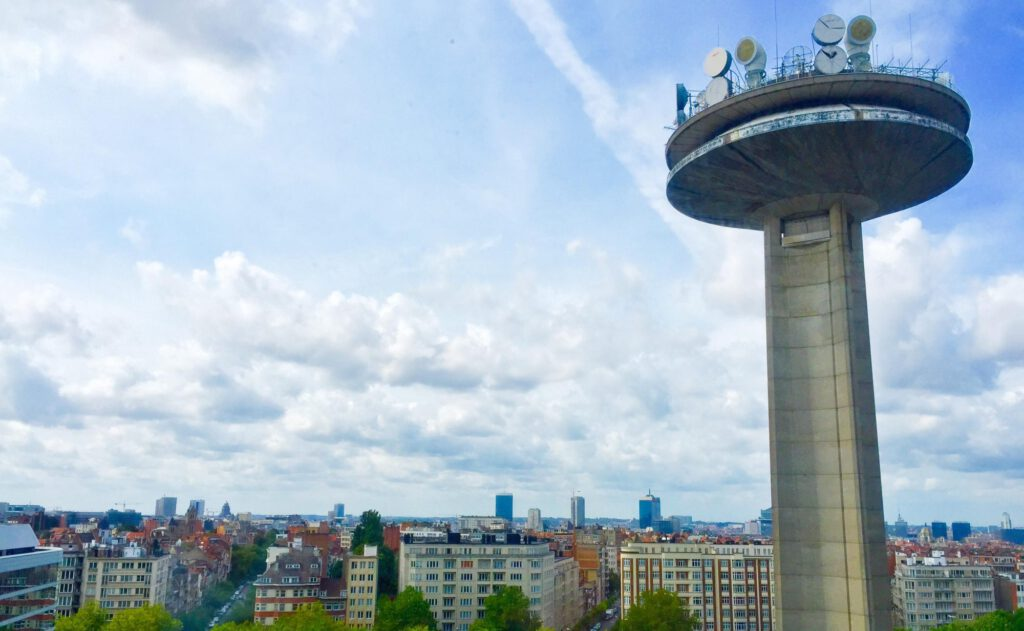 VRT-toren in Brussel.