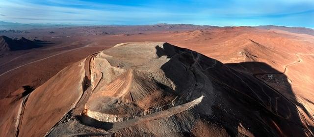 Berg waarop de European Extremely Large Telescope komt