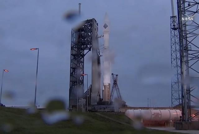 slecht weer lancering cygnus