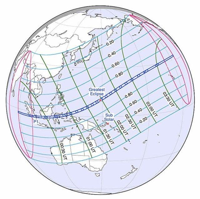 zonsverduistering 9 maart