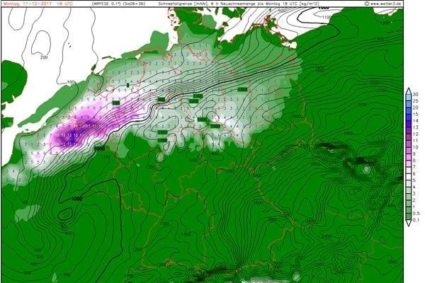 Sneeuwkaart Arpege