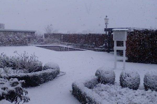 Sneeuwval Merksplas