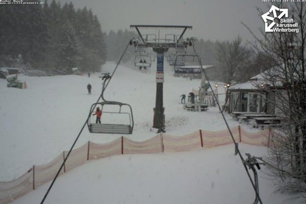 Winterberg sneeuwval