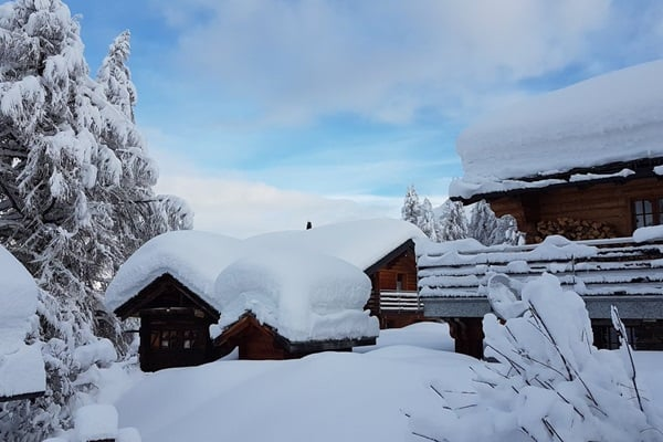 Sneeuwval Rosswald