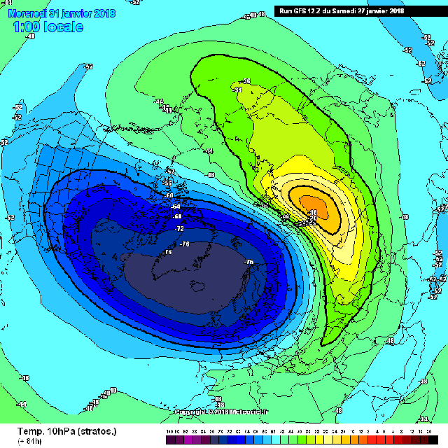 stratosfeer 31 januari
