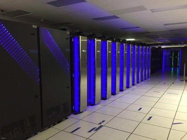 supercomputer dell weermodellen