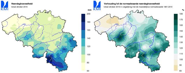 droogte van 2019 belgie oktober