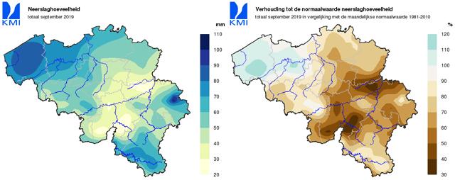 droogte van 2019 belgie september