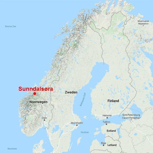 noorwegen relief