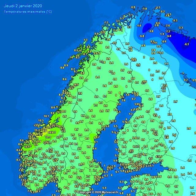 winterrecord in noorwegen maximum
