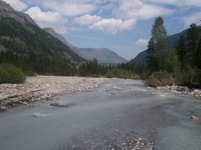 gletsjerrivier