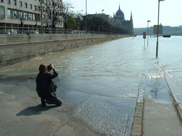 hoogwater Boedapest