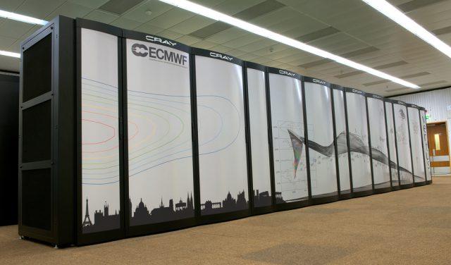 De Europese weercomputer
