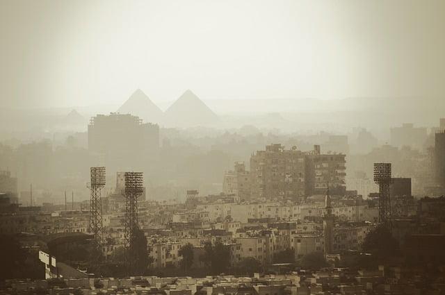 Smog in Caïro (Pixabay)