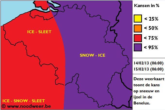 aantal centimeter sneeuw