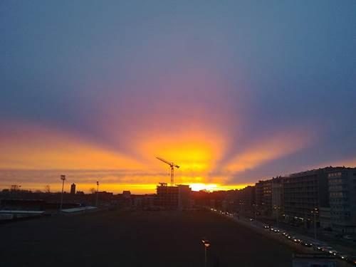 zonsondergangoostende