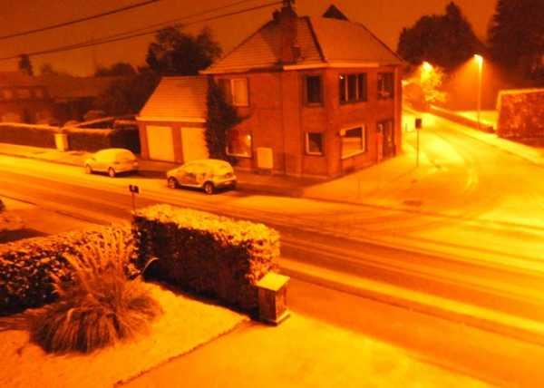 sneeuwval Hamme 2013