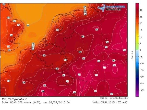 zondag-GFS-temperatuur
