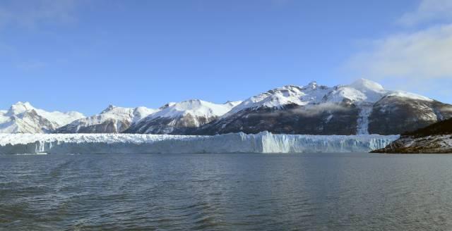 klimaat en afsmeltende gletsjer