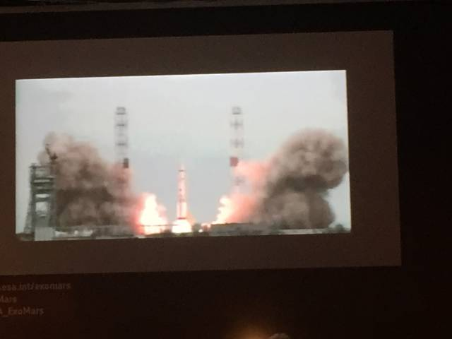 lancering exomars via proto m raket