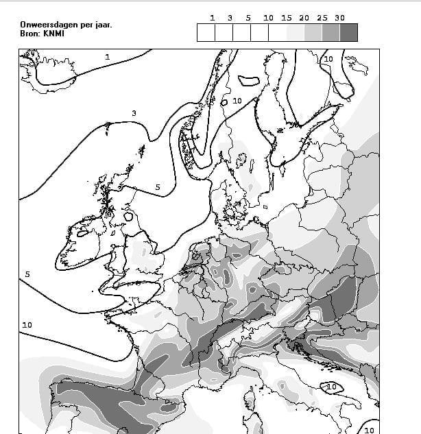 onweer-europa