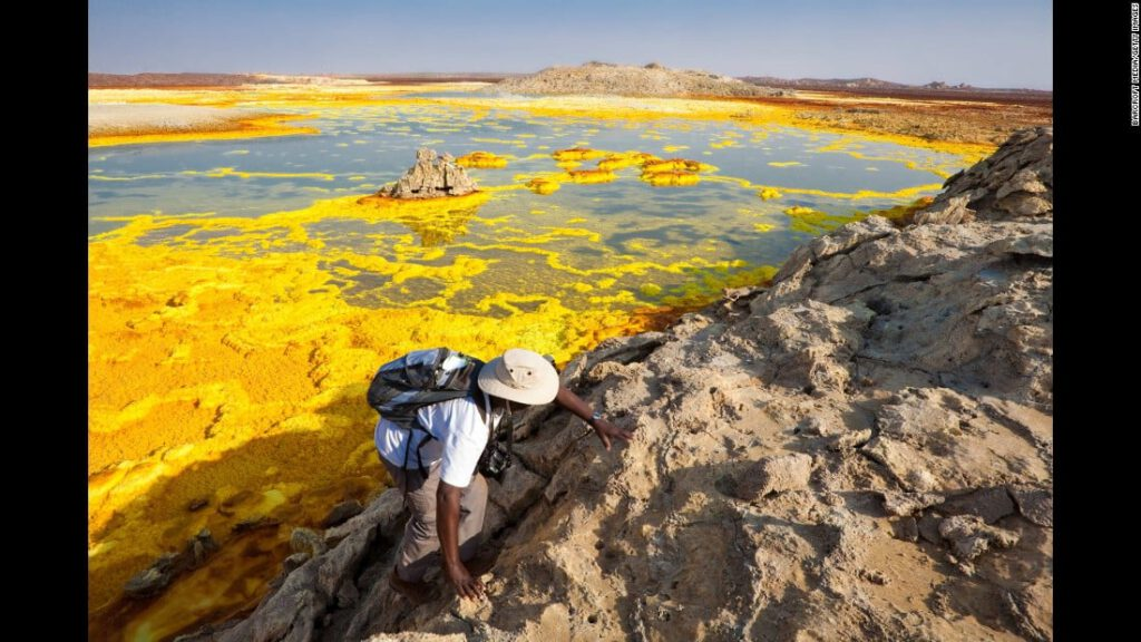 Dallol Hydrothermal Field (Ethiopië)