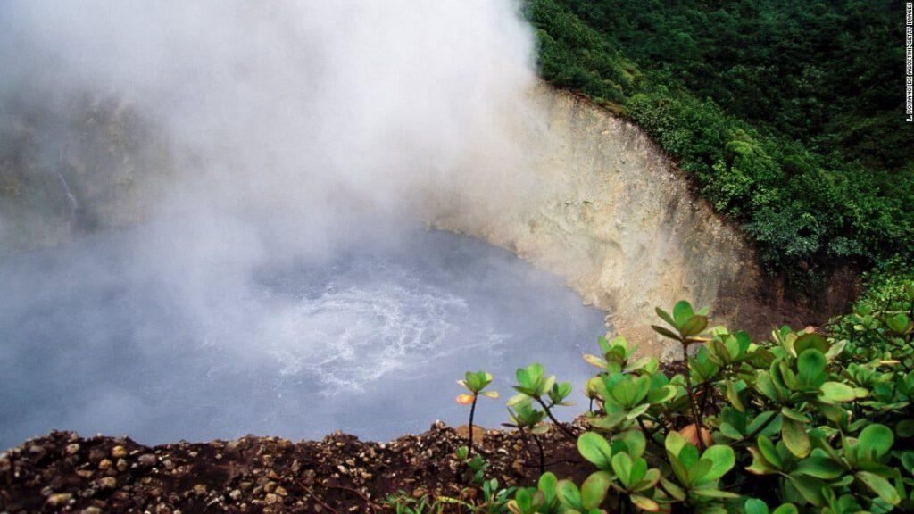Dominica's kokend meer (Dominica)