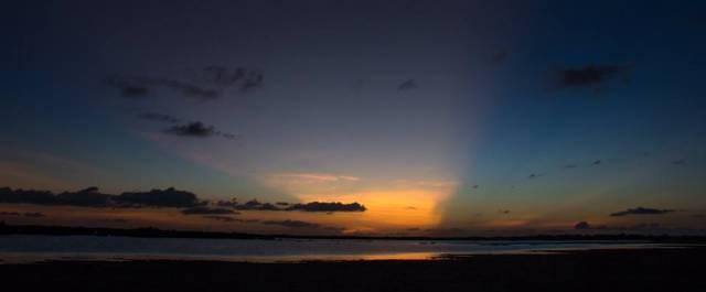 zonsondergang-la-baai