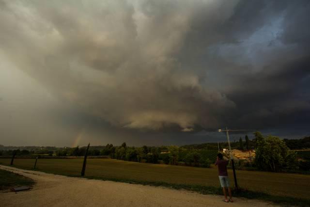 kolkende wolkenluchten