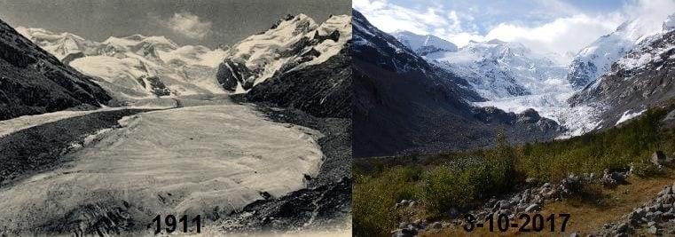 gletsjers smelten absurd snel