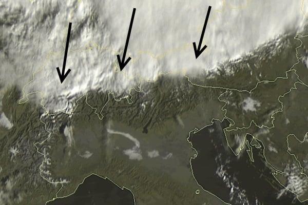 satellite beeld nordstau