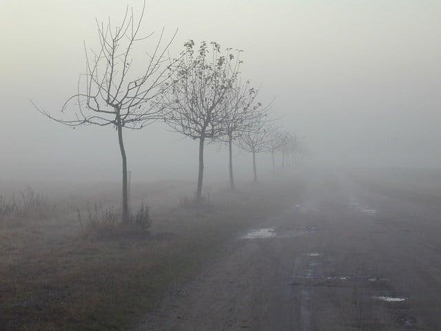 grijs weer