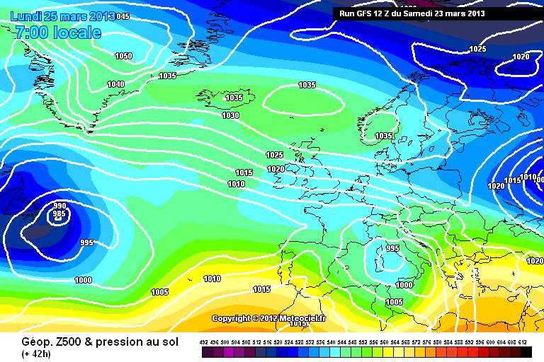Nieuw winterweer volgens GFS