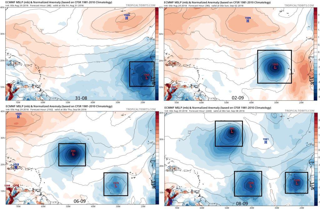 Meer activiteit op de Tropische Atlantische Oceaan