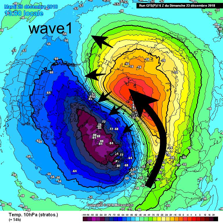 Een wave! aanval op de SPV zorgt komende dagen voor een duidelijke SSW.